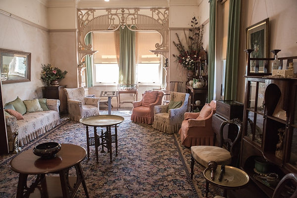 Drawing Room, Saumarez Homestead Armidale NSW