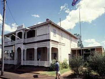 Childers RSLA Club QLD built 1900 - 1909, formerly CBC Bank with Manager Home above