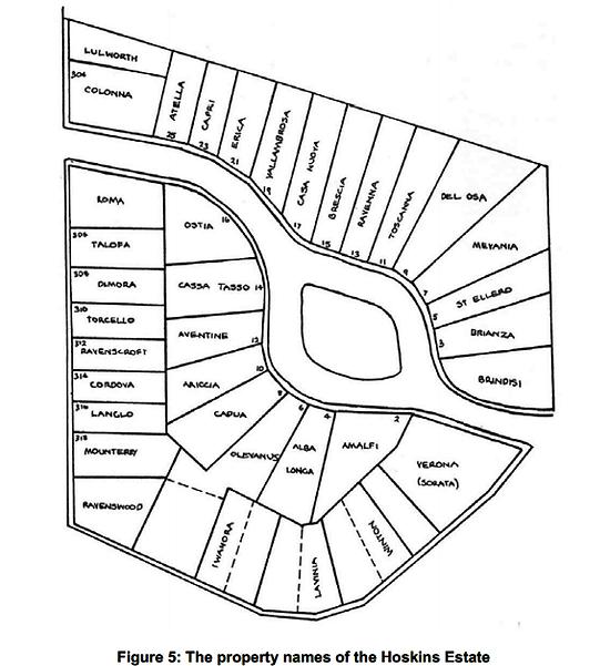 Property Names Appian Way Hoskins estate