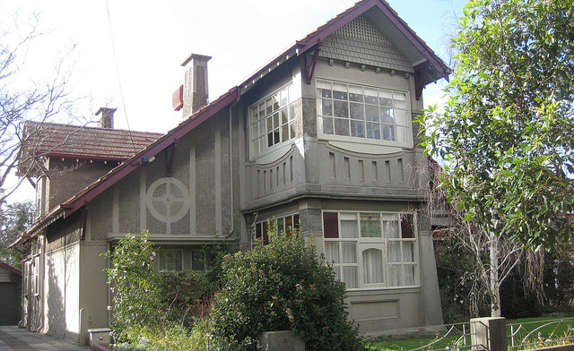 A Large Art Nouveau Villa - Travancore