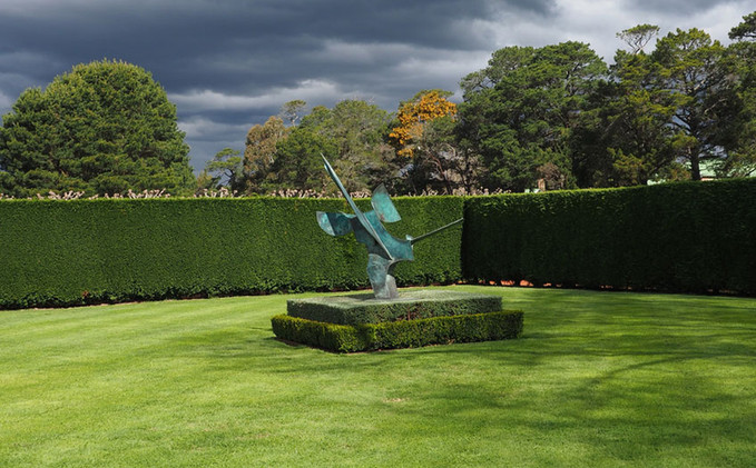 Luscious lawns at Redford. Photo - Robin