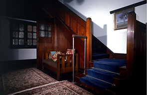 Tuliyan interior staircase