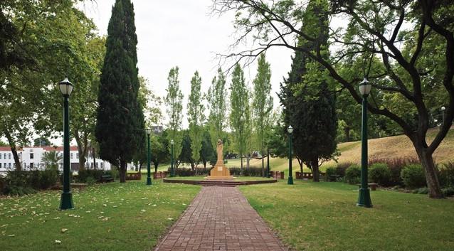 Pioneer Women's Memorial Garden by Elsie