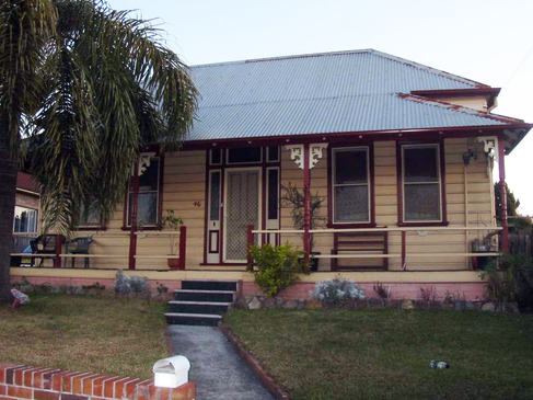 Victorian cottage in Haberfield