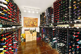 Wine cellar at Leesthorpe,  20 Bradleys Head Road, Mosman NSW