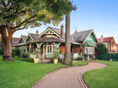 Major Marrickville home, 'Montrose'