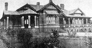Clarke's residence in Toorak of 1897