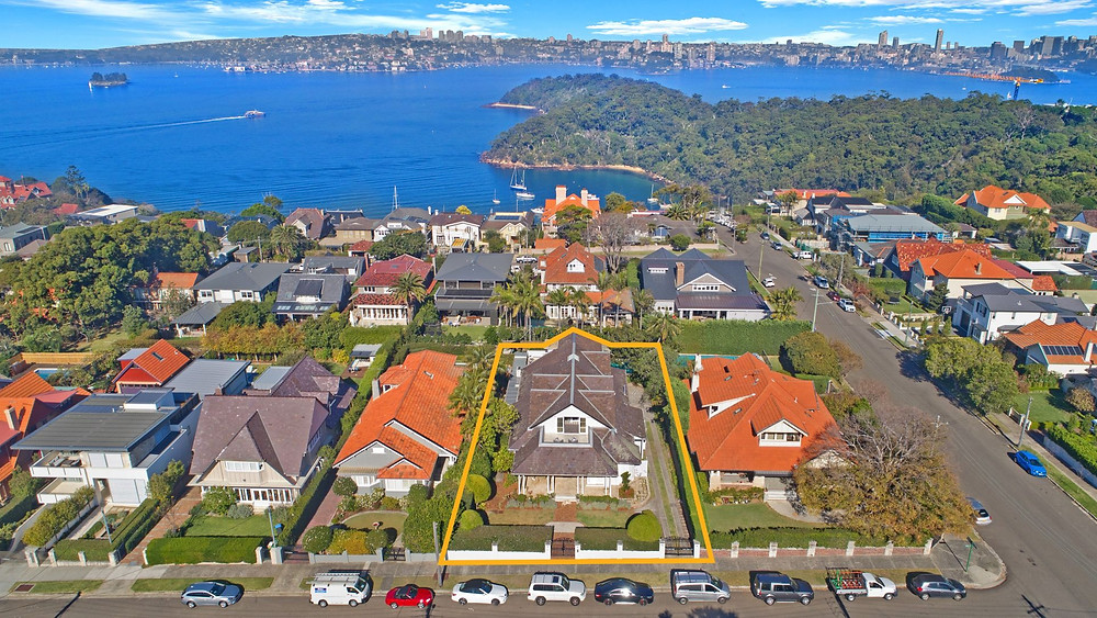 """Cardross"" 28 David Street, Mosman NSW"