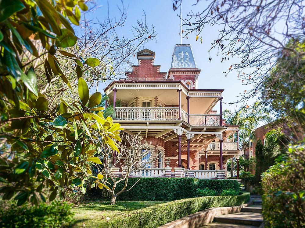 Centennial Park mansion Walshome