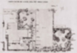 Edna Walling plan for Mrs Ledger, Benall