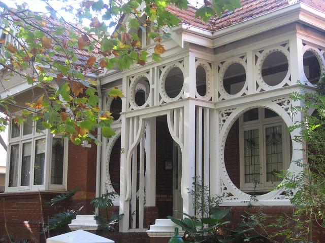 Art Nouveau in Autumn