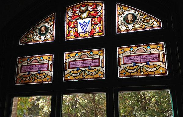 Booloominbah Historic windows
