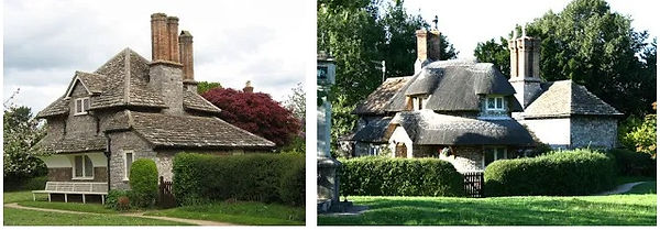 cottages atBlaise, near Bristol