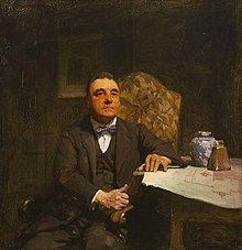 W B McInnes - H. Desbrowe Annear portrait