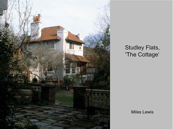 Studley Flats the Cottage.jpg