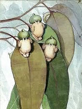 May Gibbs Bookmark - Gumnut Babies