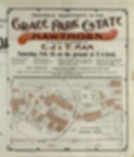 Grace Park Estate sale Feb 16, (1895)?