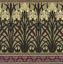 The Iris frieze by Walter Crane