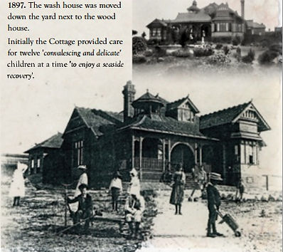 Cottage by the Sea orphanage at Queenscliff (1892)