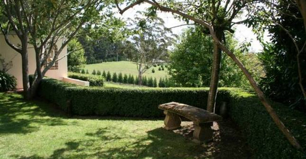 Milton Park garden lawn