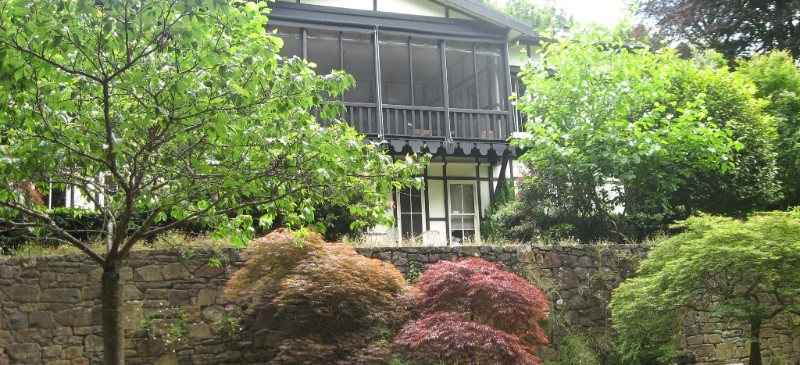 Mawarra Sherbrooke, view of house, garden