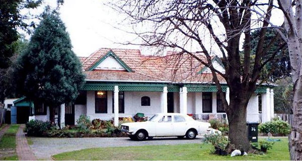 The house in 1992 (Lewis & Aitken 1992,