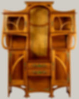 Cabinet Vitrine Designer: Gustave Serrurier-Bovy