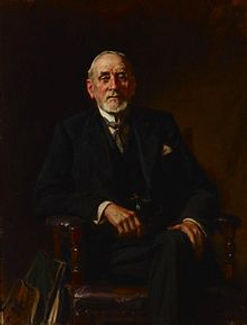 John Longstaff portrait of Sir John Sulman, 1931