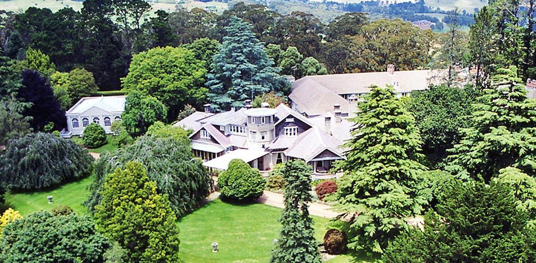 Milton Park aerial View