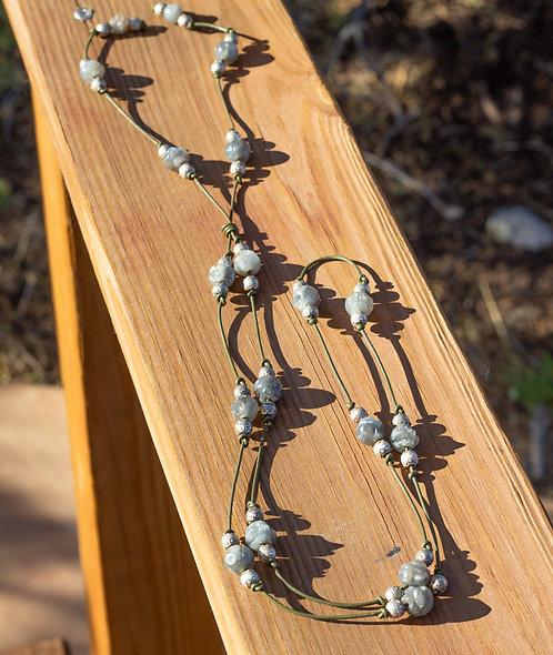 Long Lab Necklace