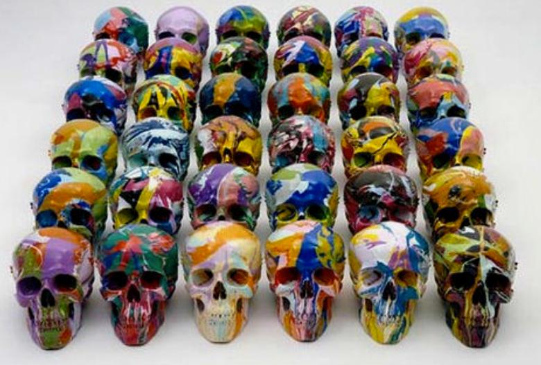 The Rainbow Fleet of Crystal Skulls
