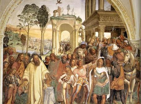 Giovanni Antonio Bazzi detto il Sodoma.  L'incontro con Leonardo e Raffaelo