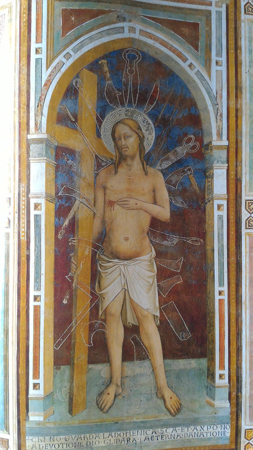 """""""Cristo della Domenica"""" a San Miniato al Monte a Firenze"""