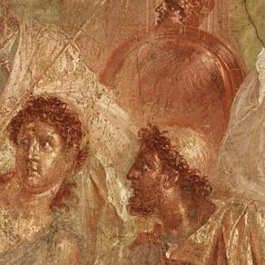 Achille scoperto a Sciro. L'eroe rivive nella Casa dei Dioscuri a Pompei