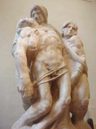 """""""Pietà di Palestrina"""", attribuita a Michelangelo"""