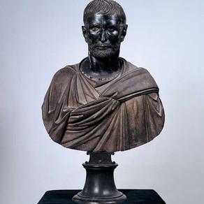 Gli occhi di ghiaccio del fondatore della Repubblica. Il Bruto Capitolino