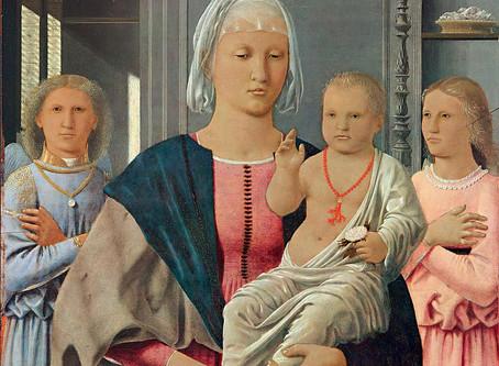 La ''Madonna di Senigallia'' di Piero della Francesca. Ascendenze fiamminghe