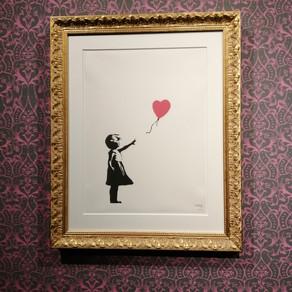 ''Banksy A visual protest''. Chiostro del Bramante di Roma