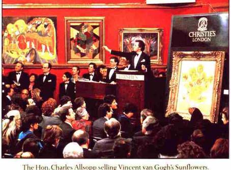 """Quei """"Girasoli"""" di Van Gogh venduti all'asta per ventidue milioni e mezzo di sterline"""