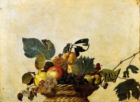 La ''Canestra di frutta'' di Caravaggio: un unicum nel suo genere