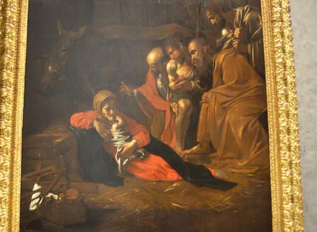 Caravaggio in Sicilia: l' ''Adorazione dei pastori'' di Messina