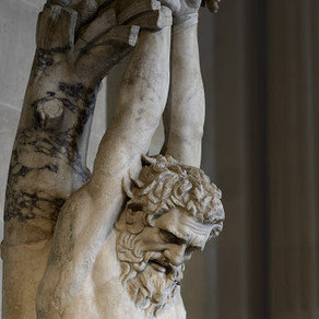 A metà tra mito e monito per i mortaliIl supplizio di Marsia