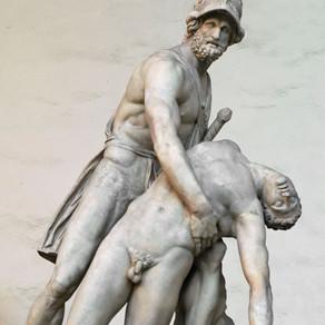 Menelao e Patroclo nel drammatico gruppo del Pasquino. Da eroi omerici a ispirazioni per eroi reali