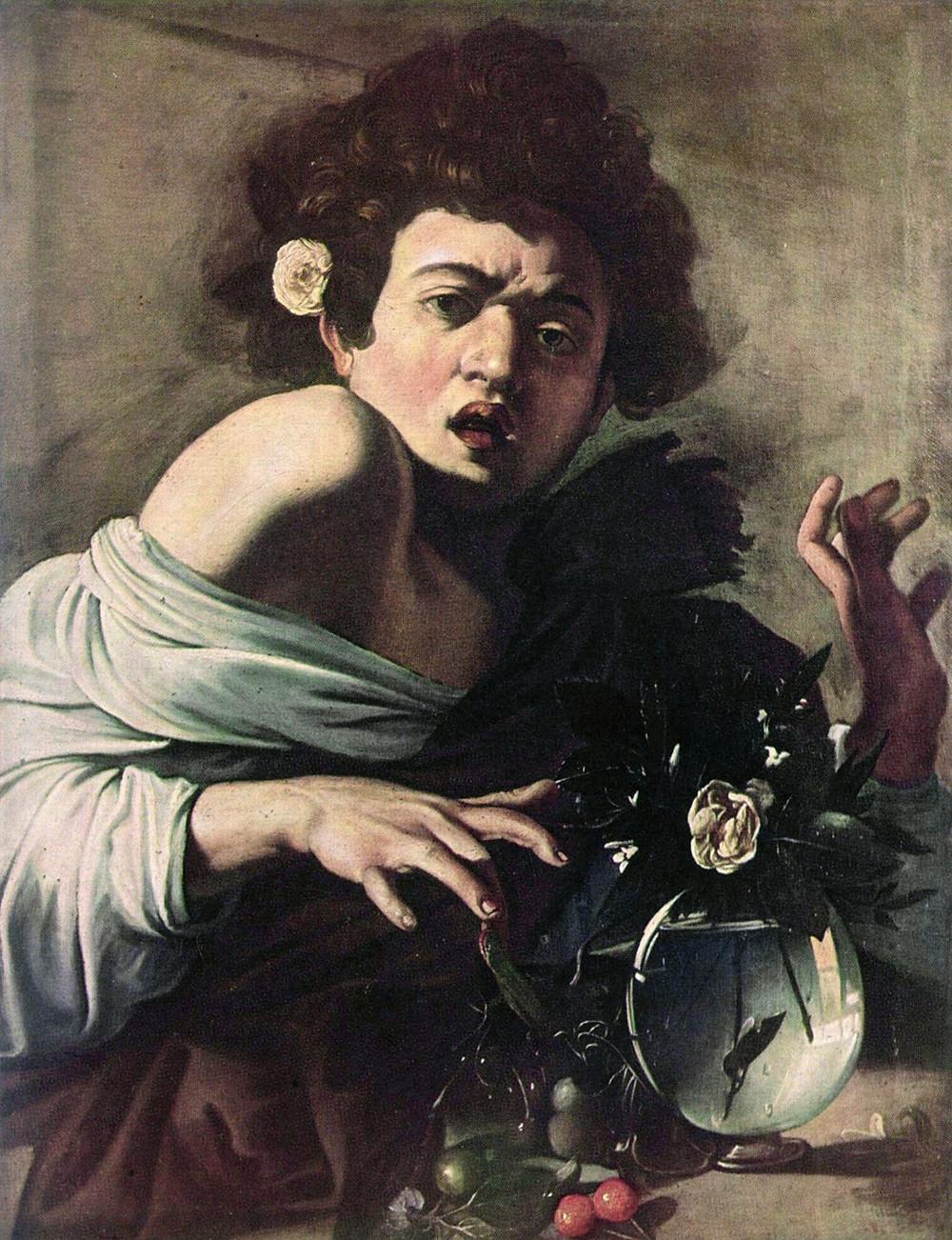 """""""Ragazzo morso da un ramarro"""", National Gallery di Londra"""