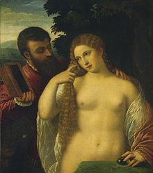 versione di Washington del quadro di Tiziano