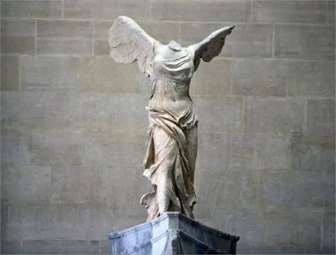 Elección Banquete Oxido  La Nike di Samotracia ovvero quando la bellezza arriva in volo in mezzo  agli uomini