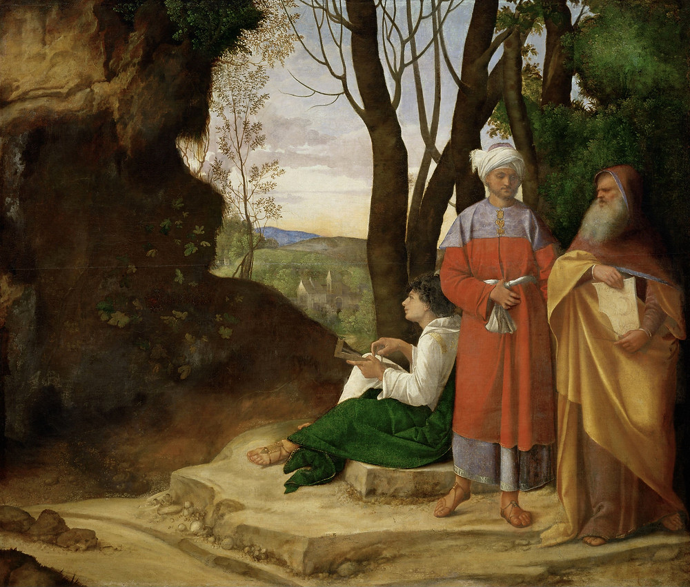 """La """"Tempesta"""" di Giorgione"""