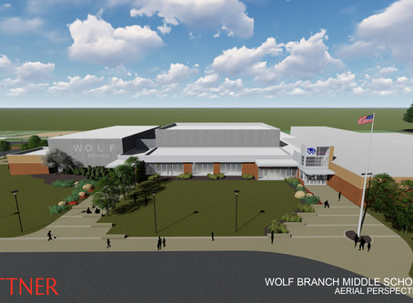 Rebuild of Wolf Branch Middle School begins
