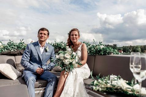 Hochzeit auf dem Wasser Berlin Brandenbu
