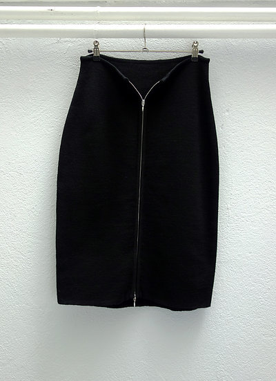 pencil skirt *wool*
